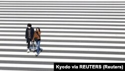 Tokio, april 2020.