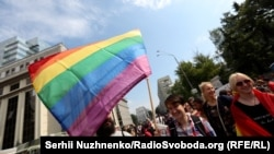 Gay-Pride March Held In Kyiv Amid Massive Police Presence