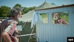 Табір втікачів Сватово, Луганська область, 12 серпня 2014