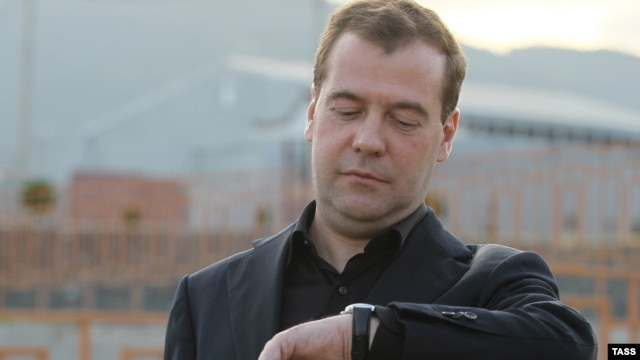 Time's up for Medvedev's 'thaw'