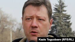 Активист группы «Защитим Кокжайляу» Андрей Бузыкин.