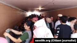 Подземный переход в Асакинском районе Андижанской области.