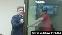 Вадим Осипов и его адвокат Виталий Черкасов