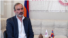 Armenia- Zhirayr Sefilian, leader of the Sasna Tsrer party, speaks to RFE/RL, Yerevan, September 6, 2019.