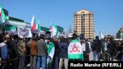 Митинг в Магасе 26 марта