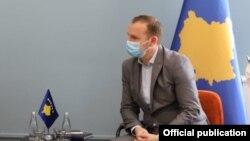 Ministri i Shëndetësisë në Kosovë, Armend Zemaj.