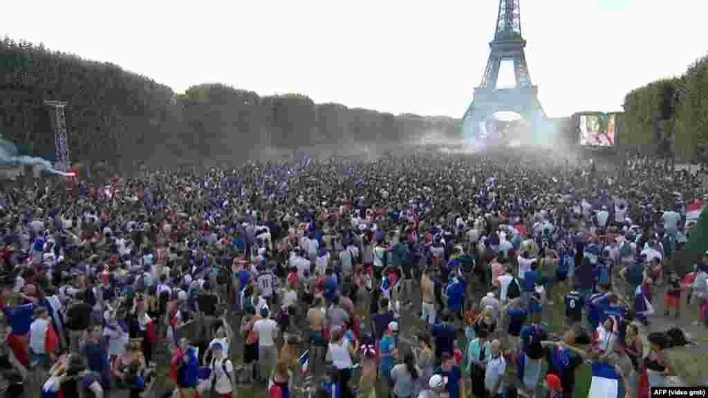 Париж після перемоги французької збірної
