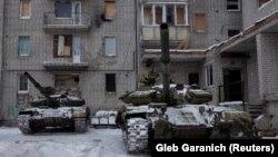 В Авдіївку підтягнули танки, 2 лютого 2017 року