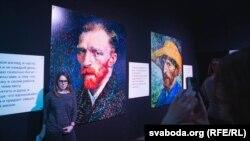 Мультымэдыйная выстава Ван Гога ў Менску