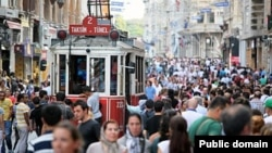 Истанбулның Таксим мәйданы