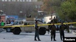 На місці вибуху в Кабулі, 12 квітня 2017 року