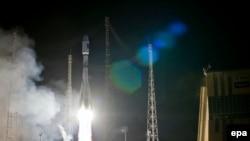 Запуск ракети «Союз» з космодрому Куру, архівне фото