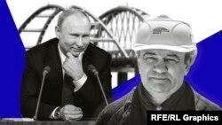 Володимир Путін і Аркадій Ротенберг. Колаж