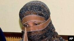 Асия Биби на слушаниях в суде, 20 ноября 2010 года.