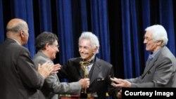 محمدرضا شجریان در مراسم تقدیر از فرهنگ شریف
