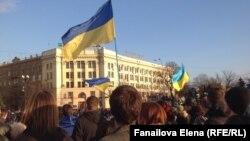 Майдан в центре Харькова