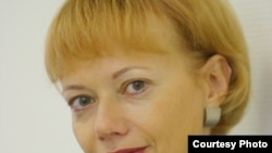 Russia--Lyudmila Telen, editor-in-chief of web-site Svobodanews.ru, undated