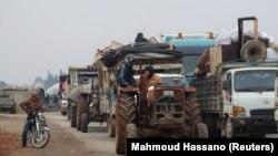 მოსახლეობსი ევაკუაცია მაარატ ალ-ნუმანიდან