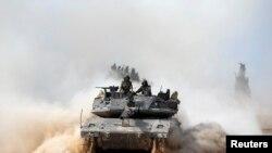 Израильские военные в секторе Газа.