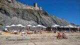 Пляж в Судаке. Архивное фото