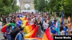 București, Marșul diversității, 20 mai 2017