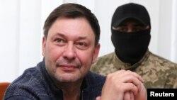 Кирилл Вышинский на судебном заседании в Херсоне