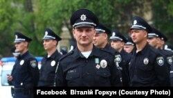 Віталій Горкун, начальник патрульної поліції Борисполя, оборонець ДАПу