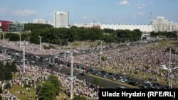 Proteste la Minsk.
