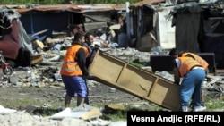 Beograd: Iseljavanje Roma
