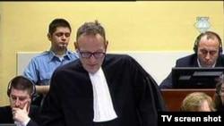 Обвинитель на втором процессе против Рамуша Харадиная