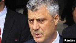 Kryeministri i Kosovë, Hashim Thaçi.