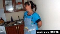 Жительница города Кызылорда Жанна Алмагамбетова. 19 июня 2014 года.