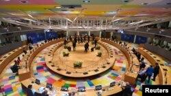 Зал проведения саммита ЕС, Брюссель