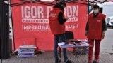 Campanie electorală la Chișinău