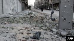 Pamje nga shkatërrimet në Alepo të Sirisë