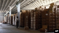 Склад за муниција во Либија.