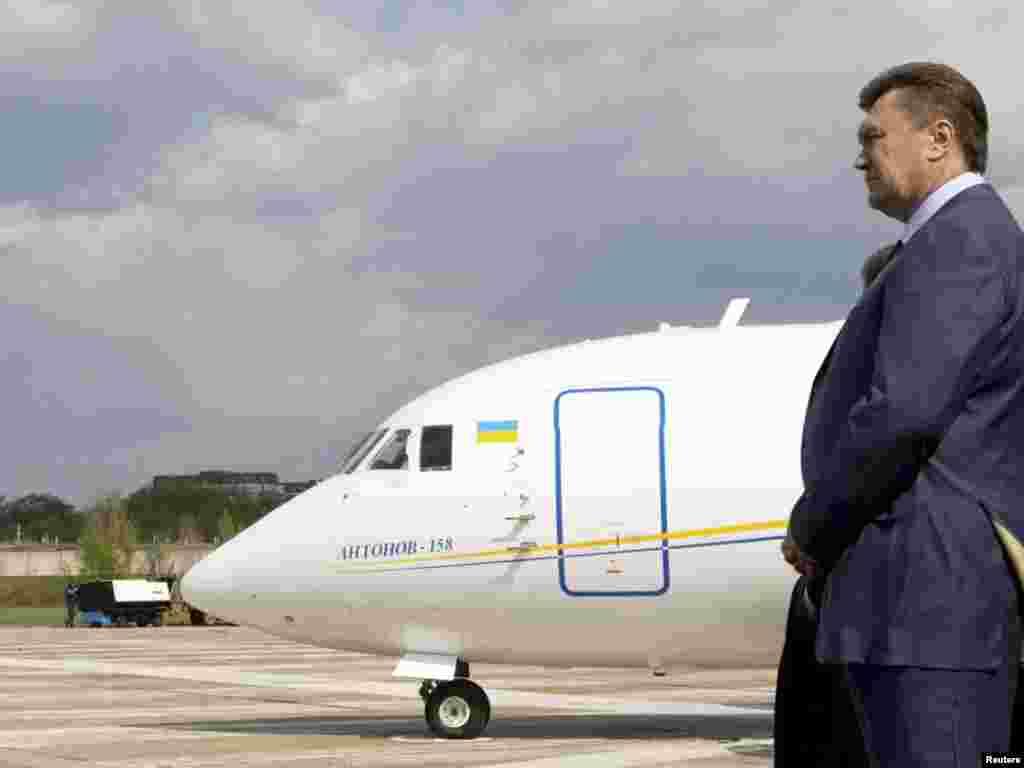 Сёньня Віктар Януковіч наведвае Беларусь