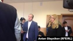 Георгий Албуров в зале суда во Владимира 26 марта 2015 года