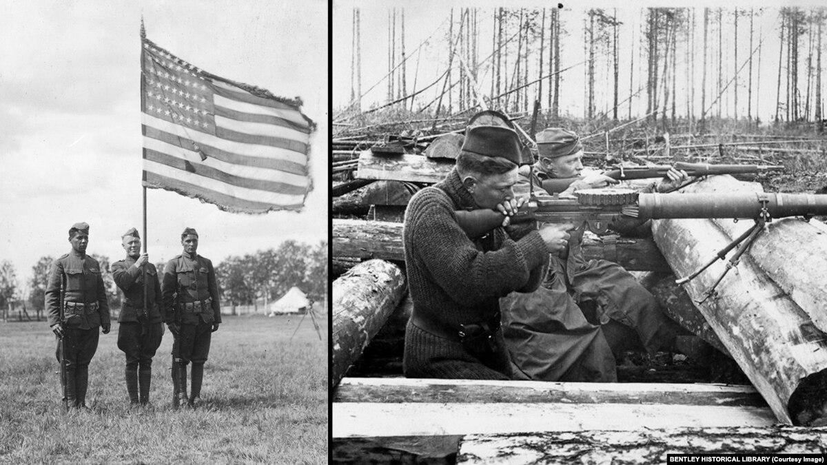 Как американцы воевали в России