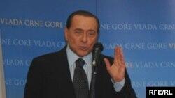 Италияның бұрынғы премьер-министрі Сильвио Берлускони. 16 наурыз 2009 жыл.