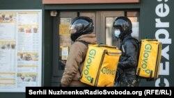 Київ на карантині – розквіт у служб доставки. 18 березня