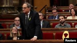 Lideri i Katalonjës, Quim Torra.