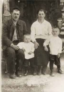 Владимир Батенко и его семья