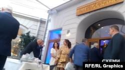 Святкування відбулось 2 травня у віденьському ресторані «Il Melograno»