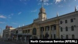 Жлезнодорожный вокзал в Краснодаре (архивное фото)