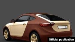 Российские гибридные автомобили будут двухцветными