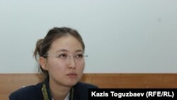 Судья Бостандыкского районного суда Алматы Аида Абилмажинова.
