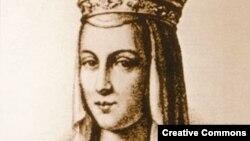 Анна Ярославна, королева Франции, фиктивный портрет (ХХ век)