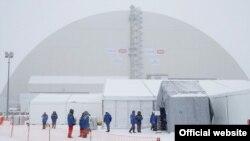 Çernobl stansiyası üzərində yeni örtük