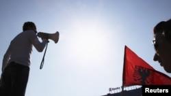 Protestë e Lëvizjes Vetëvendosje - foto nga arkivi